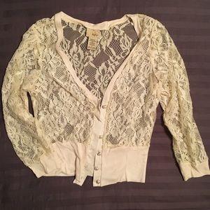 Lace Daytrip cardigan